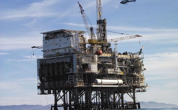 Opérations pétrolières et gazières en mer