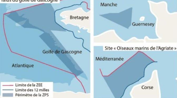 Sites Natura 2000 en ZEE