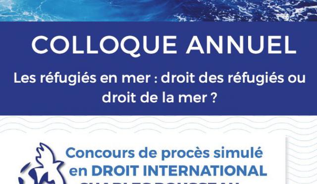 Les réfugiés en mer : droit des réfugiés ou droit de la mer ?